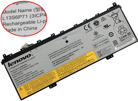 Lenovo  49Wh l13m6p71 Laptop Battery