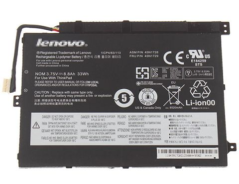 Lenovo  33Wh 45n1733 Laptop Battery