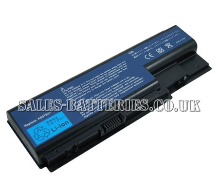 Acer  5200mAh Aspire as8730zg Laptop Battery