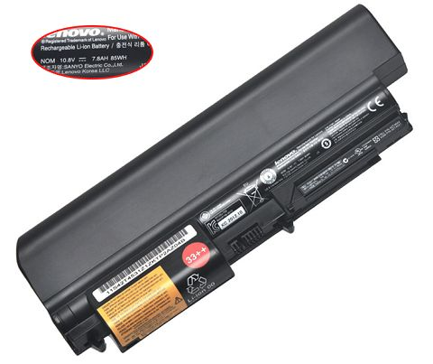 Lenovo  6600mAh Thinkpad r400 7443 Laptop Battery