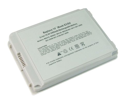 Apple  4400mAh Ibook g4 14 Inch m9848*/A Laptop Battery