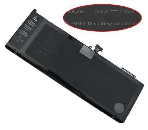 Apple  77.5W Macbook Pro 15 Inch a1286 (Early 2011) Laptop Battery