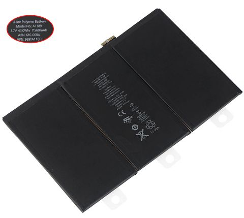 Apple  43Wh/11560mAh a1389 Laptop Battery