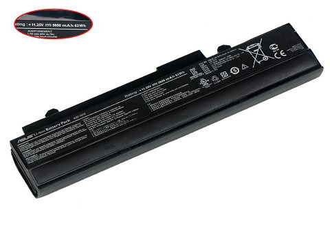 Asus  5200mAh Eee Pc 1011p Laptop Battery