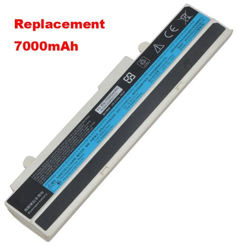 Asus  4400mAh Eee Pc 1011p Laptop Battery