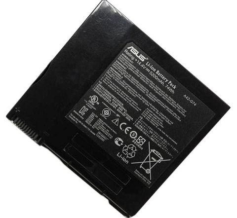 Asus  5200mAh g74sx-tz087v Laptop Battery