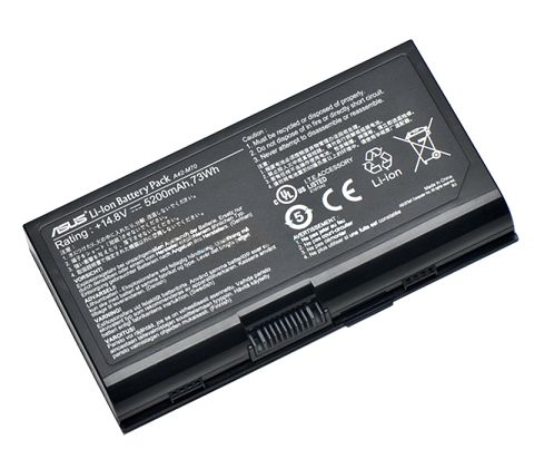 Asus  5200mAh x72vn-7s070c Laptop Battery