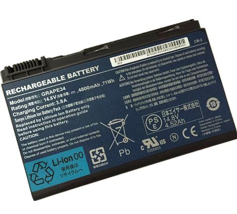 Acer  5200mAh Travelmate 5520-502g16mi Laptop Battery