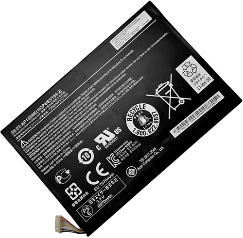 Acer  7300mAh Iconia w510-1654 Laptop Battery