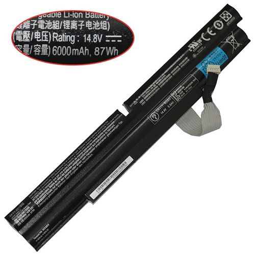 Acer  6000mAh Aspire Ethos 5951g-2674g75mnkk Laptop Battery