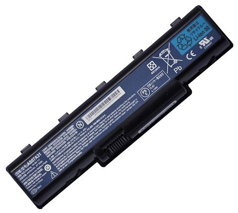 Acer  5200mAh Aspire 4715zg Laptop Battery