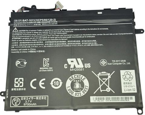 Acer  10100mAh bat1011 Laptop Battery