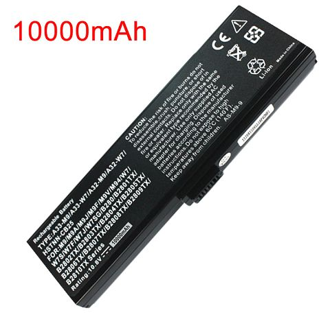 Asus  6600mAh w7s Laptop Battery