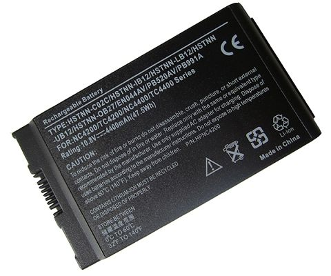 Battery For hp compaq business notebook tc4200