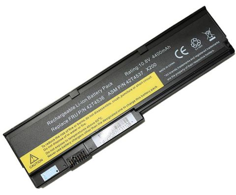 Lenovo  4400mah 42t4648 Laptop Battery