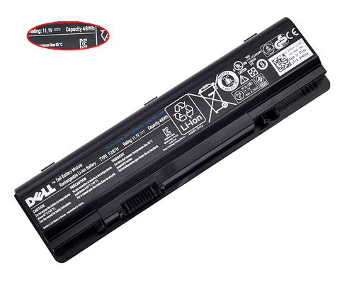 Dell  4400mAh Qu-080807004 Laptop Battery