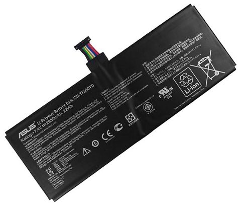 Asus  2980mAh Vivo Tab tf6p00t Laptop Battery