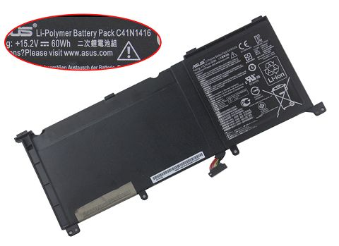 Asus  60Wh ux501 Series Laptop Battery