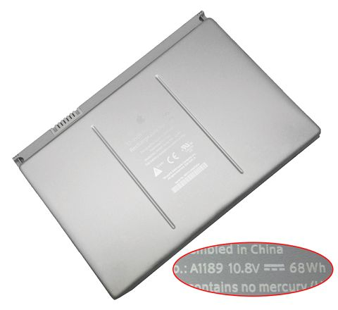 Apple  68Wh Macbook Pro 17 Inch mb166x/A Laptop Battery