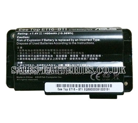 Asus  10.36Wh Eee Top et16-bt1 Laptop Battery