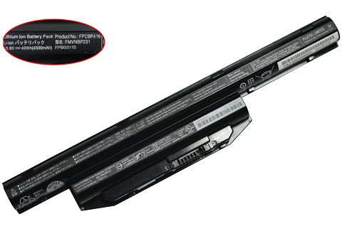 Battery For fujitsu lifebook ah544
