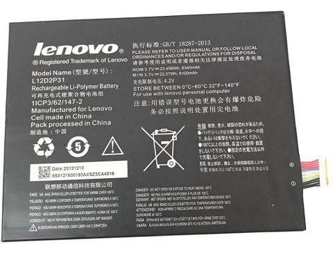 Lenovo  7400mAh l11c2p31 Laptop Battery