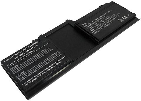 Dell  3600mAh Latitude Xt Tablet Pc Laptop Battery