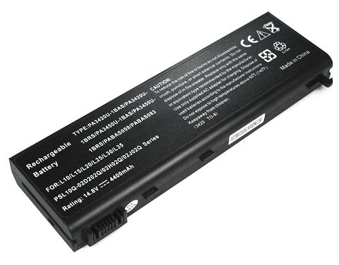 Toshiba  5200mAh Satellite l15-s104 Laptop Battery