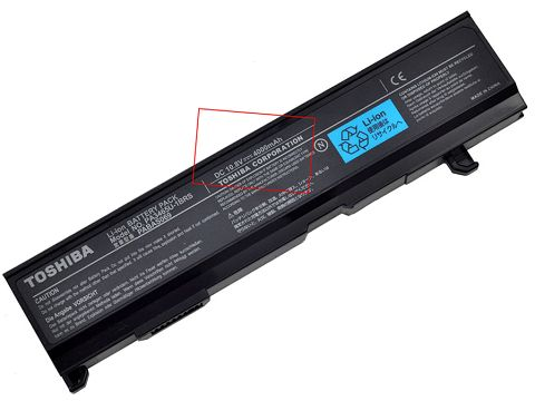 Toshiba  4400mAh pabas069 Laptop Battery