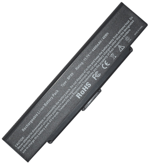 Sony  5200mAh Vgp-bps9b Laptop Battery