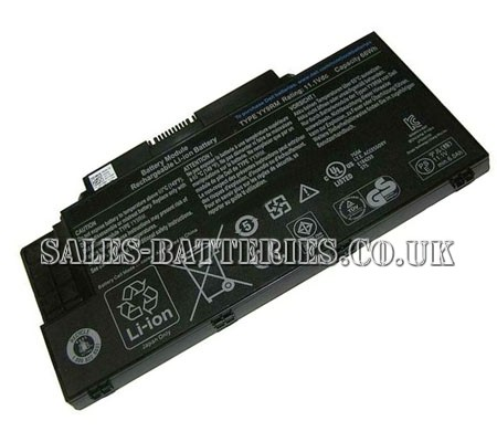 Dell  6000mAh Studio 15z Series Laptop Battery